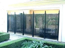 metal garden fencing panels metal garden fence panels b q ive wire