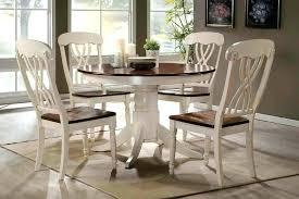 round kitchen table sets white white oak round dining table round white and oak kitchen table