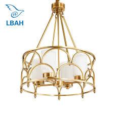 Contemporary American creative <b>full copper lamp</b> glass designer ...