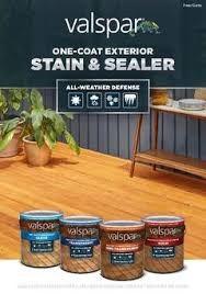 Valspar Wood Stain Color Chart Tintable Neutral Base Semi Transparent Exterior Stain And Sealer Actual Net Contents 116 Fl Oz