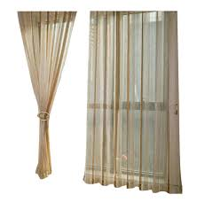 Curtain Rods Modern Design Amazon Com Aside Bside Modern Design Simple Style Solid