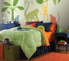 Monkey Bedroom Decorations Boys Room Art Decoration Imanada Decor Ideas Poptalk Wallpops