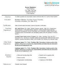 Sample Education Resume Education Resume Objective Sample Resume