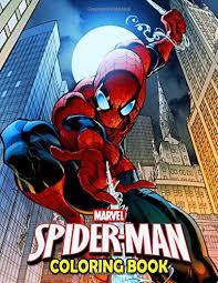 The most shocking and incredible comic of 2019 is here as j.j. Marvel Spiderman Coloring Book 50 Spider Man Coloring Pages Funny Books Gifts For Kids And Adults Jordan Jimmy 9781699326688 Amazon Com Books