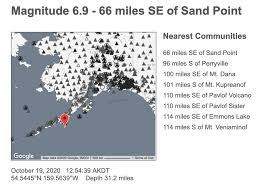 Tsunami waves were possible up to 300 kilometers (180 miles) from the quake's epicenter, the. Tsunami Warning Issued For Gulf Coast After Strong Quake Near Sand Point Kbbi