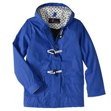 Winter Coats Walmart I5 Apparel Girls Waxie toggle Rain Slicker Jacket Com Faded Glory Womens Hooded Puffer Coat Bobs