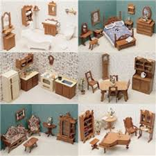 miniature doll furniture. 44-Pc. Furniture Kit By Corona Miniature Doll I