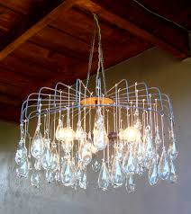 impressive blown glass chandelier custom blown glass chandelier jennifer studio