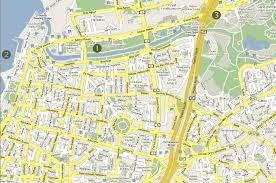 tel aviv map  hotel eden tiberias glatt kosher