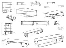 table design sketches. Unique Table Custom Made Design Sketches To Table