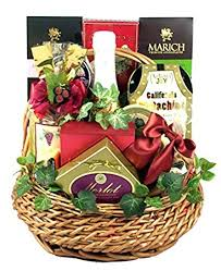 napa valley retreat gourmet gift basket