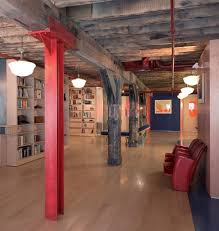 Wonderful Simple Basement Design Ideas Diy Urban Loft Remodeling Style Intended Beautiful