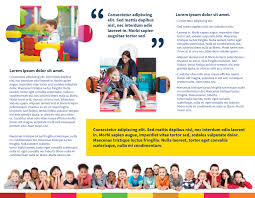 brochure daycare brochure template picture of daycare brochure template