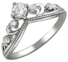 Эстет <b>Кольцо с 5 фианитами</b> из серебра 01К157040 — купить по ...