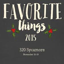 320 Sycamore Lighting My Favorite Things 2015 Evolution Of Style