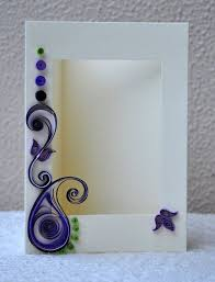 quilled paper photo frames are one of the artistic craft ideas that look awesome on a contemporarily furnished room what you just have to do with these