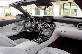The two box design is crafted by optimizing dimensions and proportions. 2018 Mercedes Benz C Class Convertible Interior Photos Carbuzz