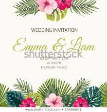 Wedding Card Design Wedding Invitation Card Design Template Exotic Stock Vector Royalty