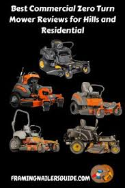 Zero Turn Mower Comparison Chart 32 Best Commercial Zero Turn Mower Reviews For The Money