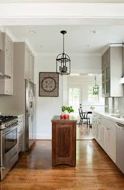 Interior:Contemporary Cottage Kitchen Style With Wooden Floor Decor Contemporary  Cottage Kitchen Style With Wooden