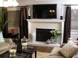 Mantel On Brick Fireplace How To Build A New Fireplace Surround And Mantel Hgtv
