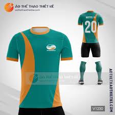Mẫu áo bóng đá thiết kế Viettel V1248 - Áo Thể Thao Thiết Kế