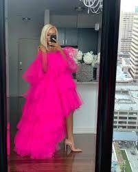 💕💕💕 #shopoyemwen | Tulle skirt dress, Tulle skirts outfit, Red prom dress