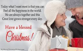 Cute Merry Christmas Wishes For Boyfriend Girlfriend, Romantic ...