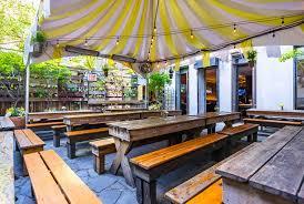 loreley beer garden nyc heated outdoor beer garden party room lounge bar beer hall