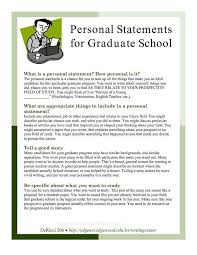 Cv Personal Statement Sample Personal Statement For Graduate School Sample Essays Best Of High