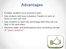 impact of technology on education advantages