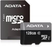 Купить <b>карту памяти ADATA</b> microSDXC UHS-I Class 10 <b>128Gb</b> ...