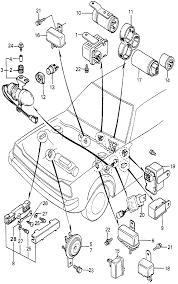 1981 honda accord 4 door se kl 5mt main fuse box horn diagram 3055850