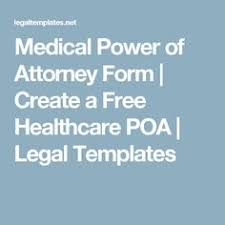 Free Downloadable Durable General Power Of Attorney Form | Pinterest ...