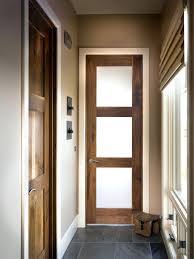 office entry doors. Interior Office Door With Glass Window Meacham Entry Square Top Rail 3 Lite Walnut Doors Sidelights Y