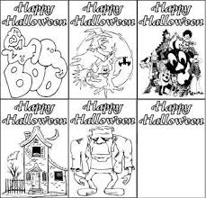 If you like the color scheme of these halloween cards and would like to create you printables using the patterns we used here, then head over to photoshopfreebrushes.com where you can download them. Free Printable Halloween Colouring Cards Halloween Teaching Free Teaching Resources Teaching Resources