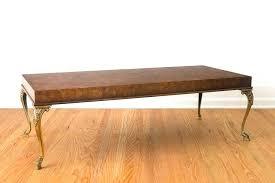 burl wood coffee table image of s california