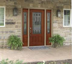 black front door with sidelightsBlack Front Door with Sidelights  Adjust ThermaTru Front Door