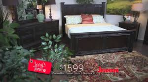 Jerome's Pine Valley Bedroom Collection - YouTube