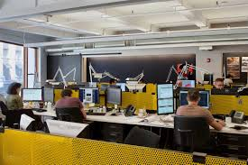 designing office space layouts. ICRAVE Office Layout Photo By Design Milk Designing Space Layouts