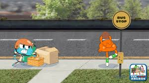 the amazing world of gumball go long avoid obstacles catch the football cartoon network games