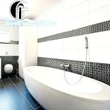 bathroom wall borders bathroom wall border silver white black mosaic for kitchen bathroom wall border bathroom