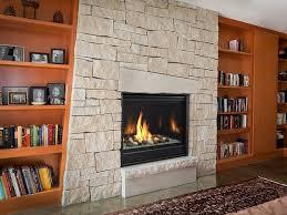 caliber modern gas fireplace series
