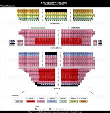 Matilda The Musical Seating Chart Shaftesbury Theatre London Seat Map And Prices For Juliet
