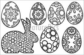 Small Picture L Easter Egg Template Cut Out Coloring Page Qandjco