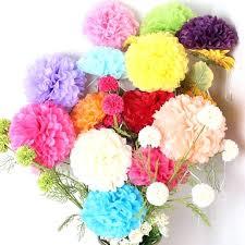 Tissue Paper Flower Centerpieces Tissue Paper Flower Centerpiece Wedding Bastinformayor Com