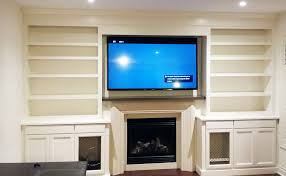 built in entertainment wall unit caledon