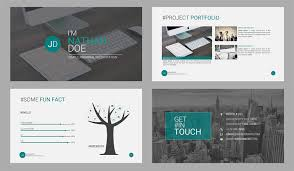 Resume Powerpoint Presentation Top Resume Powerpoint Templates To Help You Stand Out