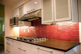 red glass tiles backsplash mesmerizing red tile red tile chic red tile red  tile red glass
