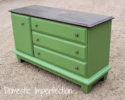 painted green furniture. Painted Green Dresser With Wood Top Furniture
